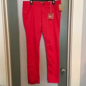 Mossimo Supply CO- Low Waist Jeans Orange size15